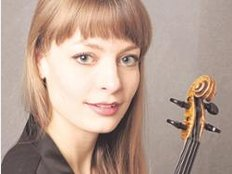 Verena-Maria Fitz verdankt ihre Karriere als Violinistin Denes Zsigmondy (re.). Fotos: red